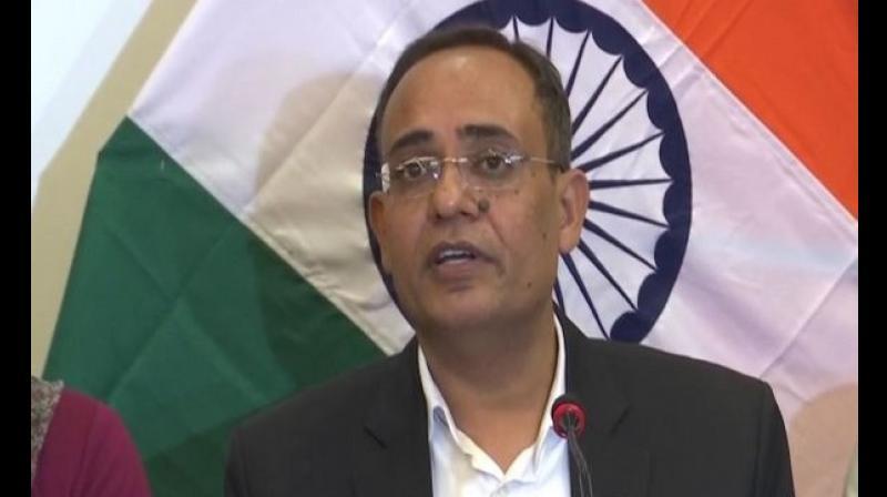 J&K government spokesman Rohit Kansal (Photo: ANI)