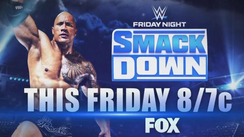 Hollywood star Dwayne Johnson aka The Rock is taking a trip back to WWE. (Photo:Twitter)
