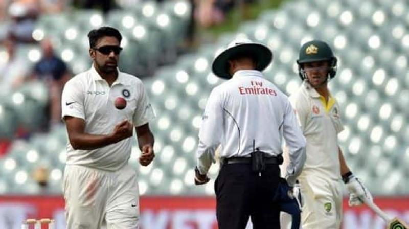 Wriddhiman Saha and Ravichandran Ashwin have been included in the playing XI for the first Test of the three-match series against South Africa. (Photo:AFP)
