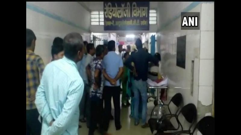 The victim has been shifted to the Patna Medical College and Hospital (PMCH), where she is being treated for her injuries. (Photo: ANI)