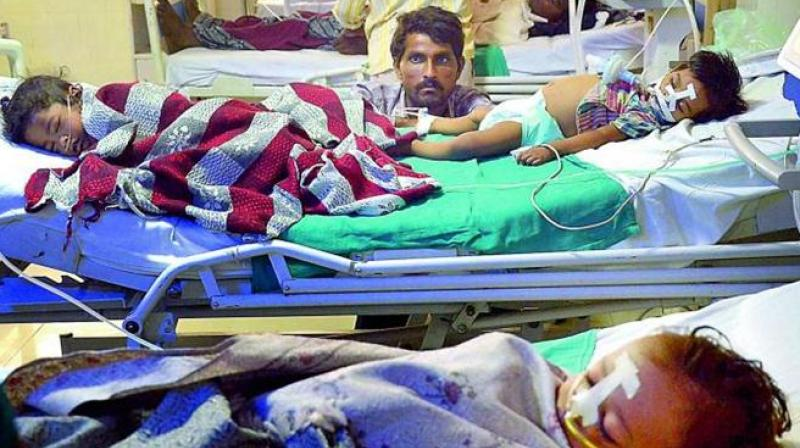 There were allegations that the deaths happened due to disruption in the oxygen supply. (Photo: PTI)