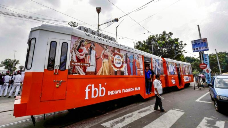The tram will ride around the city for 45 days. (Photo: PTI)