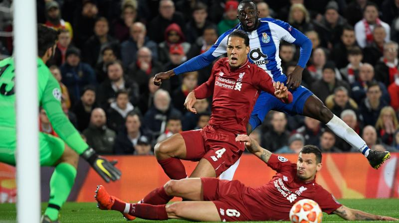 Liverpool thrashed the Portuguese giants 5-0 in the first leg of their last-16 tie last season and the scoreline could have been just as embarrassing for Sergio Conceicao's men had the hosts been more accurate in front of goal. (Photo: AFP)