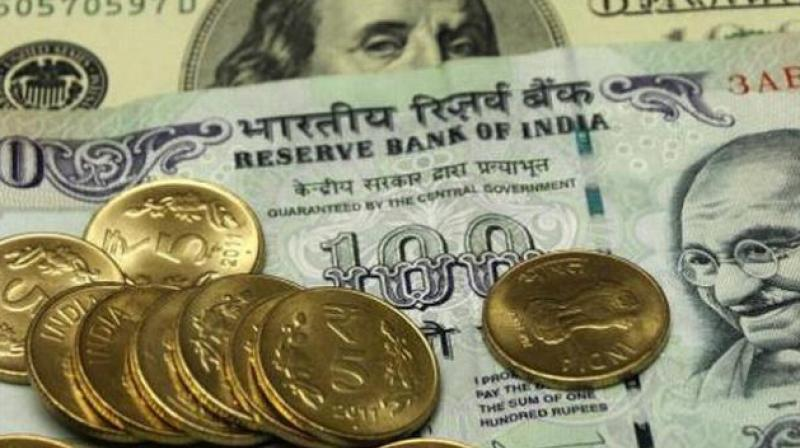 The rupee, already down more than 7 per cent this year, has been pressured by a sell-off in emerging markets. (Photo: PTI)