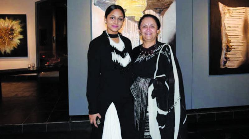 Kalpana Shah and Sanjana Shah