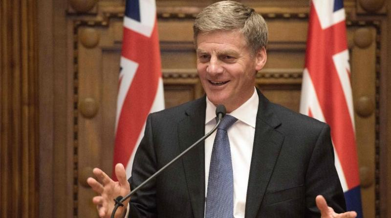 English, 54, was Key's preferred candidate to succeed him after serving under him as finance minister and returning New Zealand's budget to a surplus. (Photo: AFP)