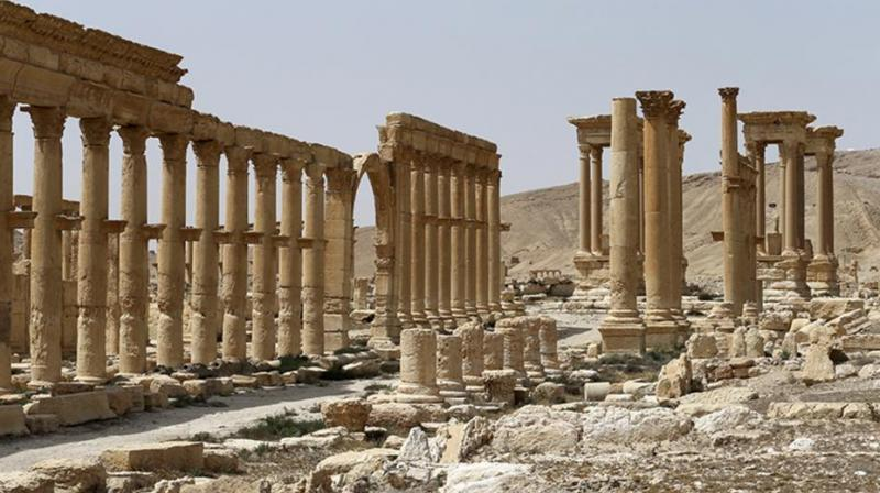 A desert oasis surrounded by palm trees in central Syria, Palmyra is also a strategic crossroads linking the Syrian capital, Damascus, with the country's east and neighbouring Iraq. (Photo: AP)