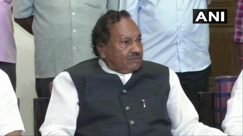 Eshwarappa, 70, who is a member of the Kuruba backward caste, is also known for making controversial and sexist statements in the past as well. (Photo: ANI)