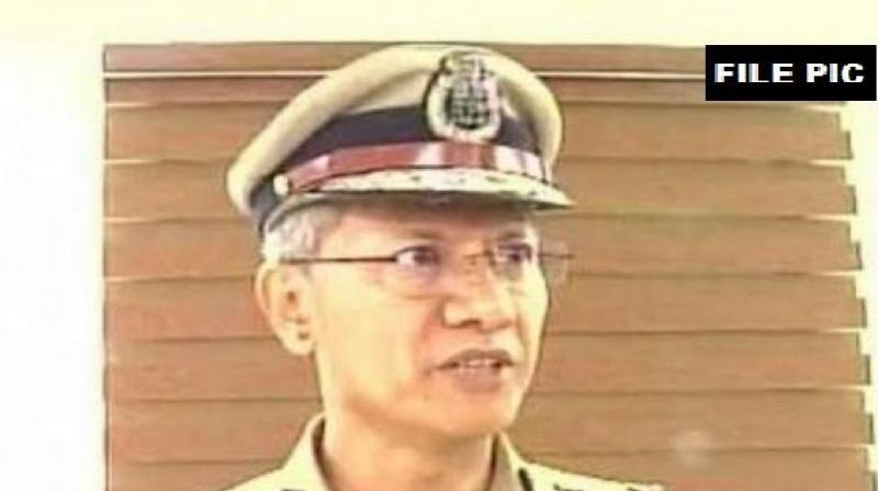 DGP DG Sawangsaid that former Chief Minister N Chandrababu Naidu was taken into preventive custody as he was creating tensions and disturbing law and order. (Photo: ANI)