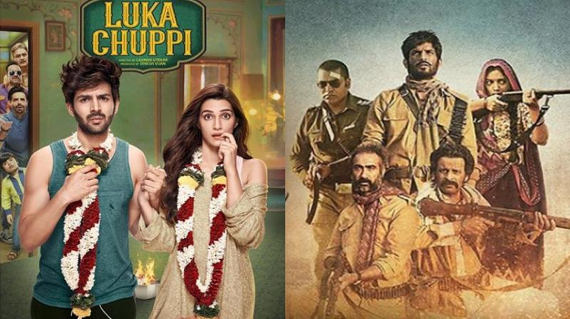 Luka Chuppi and Sonchiriya's posters. (Photo: Instagram)