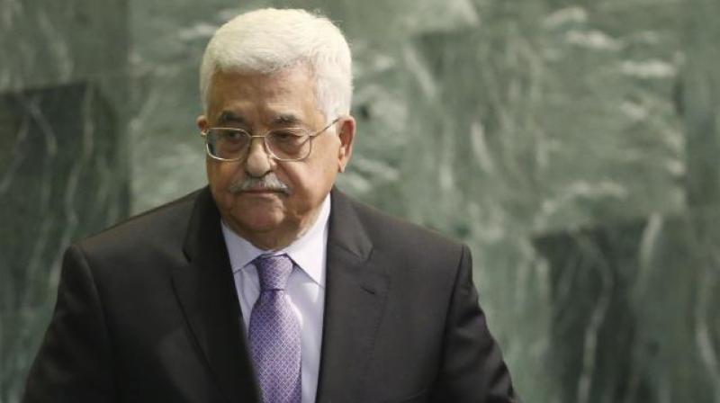 Palestinian president Mahmoud Abbas. (Photo: AP)