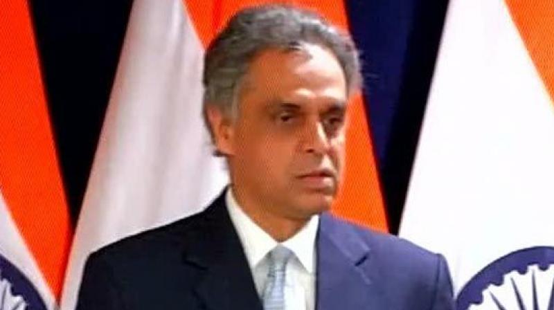 India's Permanent Representative to the UN Syed Akbaruddin. (Photo: PTI)