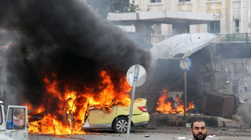 Two bombs planted by terrorists exploded near the Bab al-Saghir cemetery in Bab Musalla. (Photo: Representational/AFP)