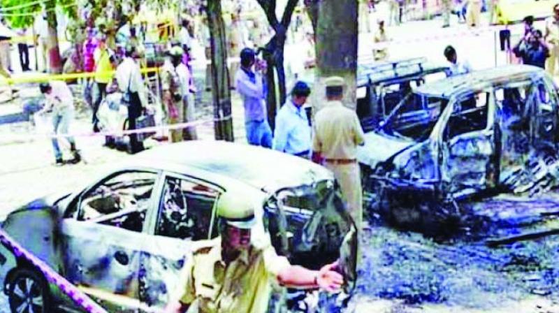 The 2008 Malegaon blasts killed seven people.