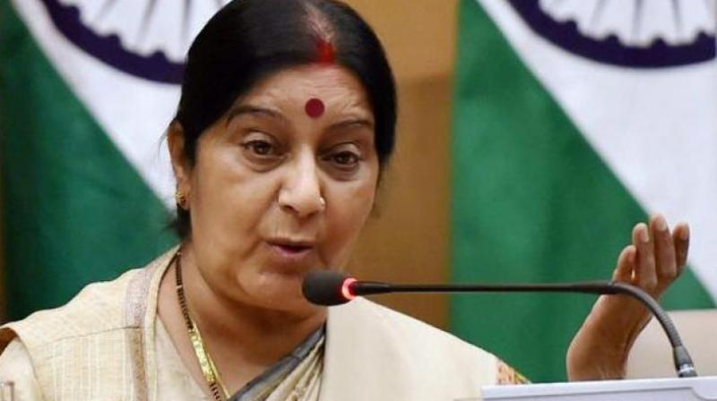 External affairs minister Sushma Swaraj (Photo: PTI)