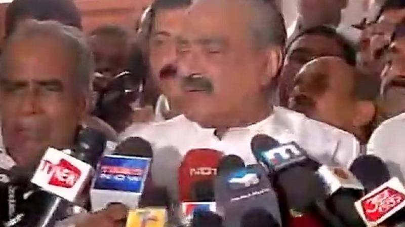 Mani is survived by his wife Annamma, son Jose K Mani who is also a Rajya Sabha MP and five daughters. (Photo: ANI)
