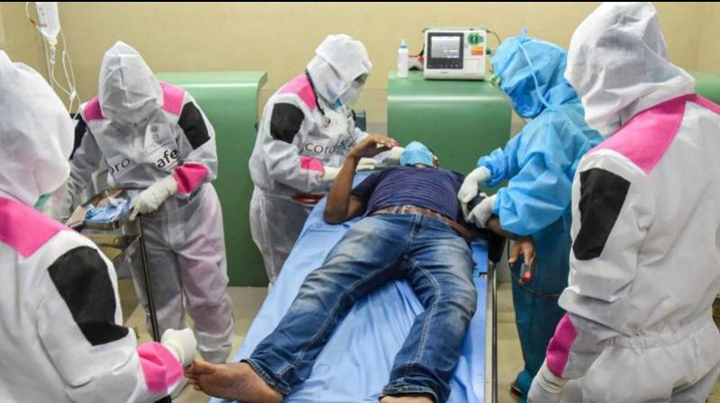 COVID-19 can affect almost all organs, say experts at AIIMS. (Representational Image- AFP)