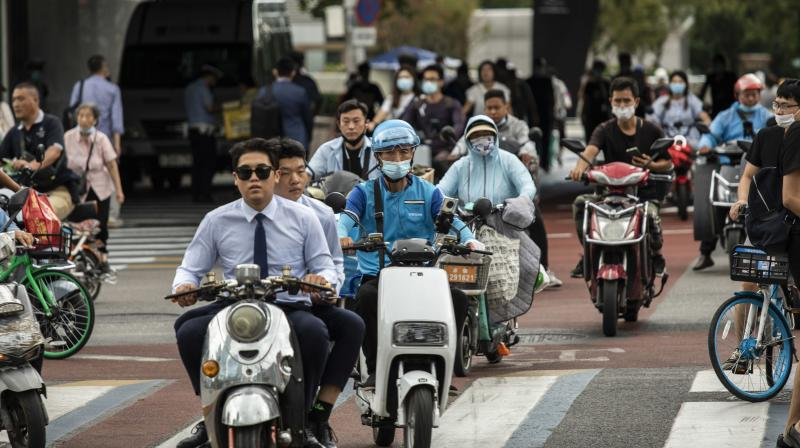 Beijing has pledged to make employment a top priority of its economic policies. (Photo: Bloomberg)
