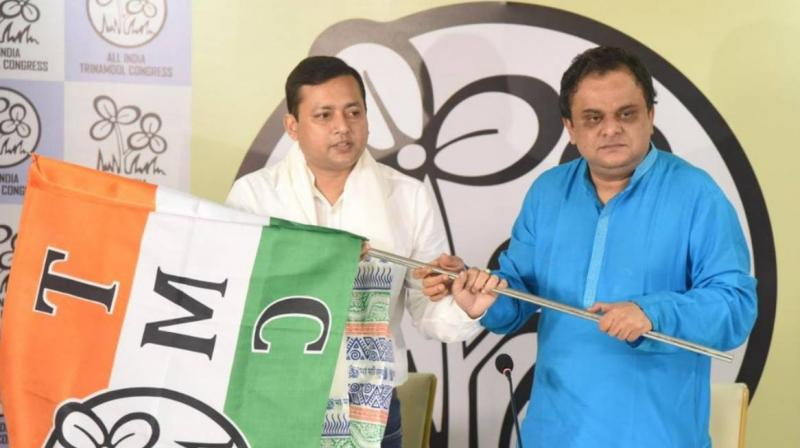 Tanmoy Ghosh's defection brings down the total number of BJP MLAs in the state to 73. (Photo: Twitter/@AITCofficial)