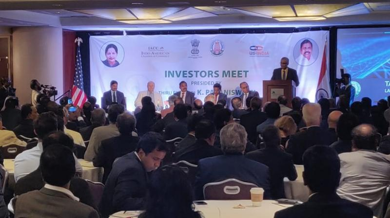 'The new investments will benefit youth (in Tamil Nadu) as over 25,000 jobs will be created,' the release said. (Photo: Twitter | @TNChiefminister)
