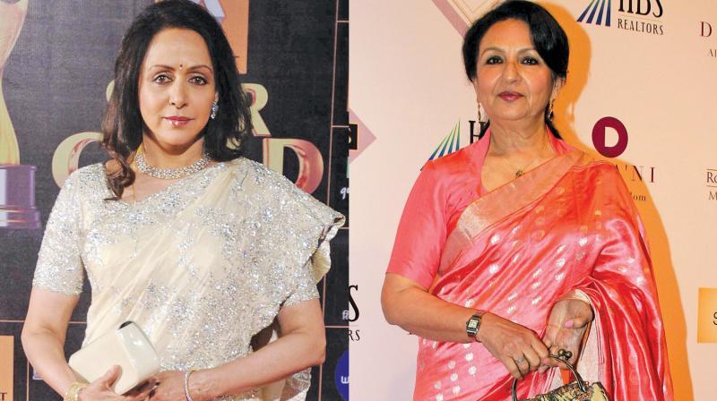 Hema Malini and Sharmila Tagore
