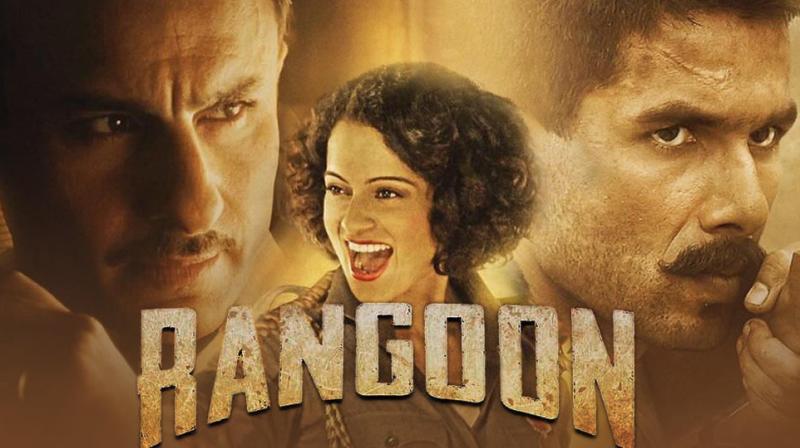 Poster of 'Rangoon'.