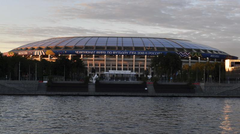 21st FIFA World Cup is set to kick off in Russia's Luzhniki Stadium on Thursday. (Photo: AFP)
