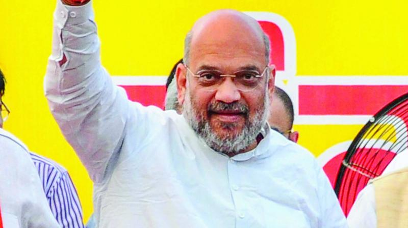 "Union home minister Amit Shah, who will arrive Kolkata on Sunday on a day-long tour, will kick-start the ""Aar Noi Annay"" campaign at the BJP's mega rally at Shaheed Minar Ground in heart of the city in support of the CAA."