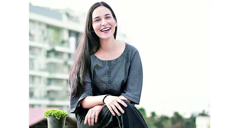 Ayushi Tyagi, a textile student at NIFT