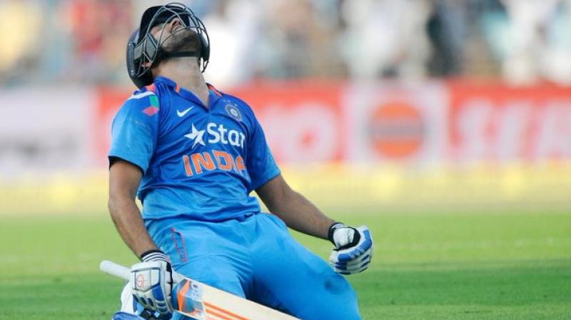 If all goes well, Rohit Sharma may get some well-deserved rest during the three-match ODI series against the Caribbean team so that he is fresh and rejuvenated for the tough tour of New Zealand next year. (Photo: ICC/Twitter)