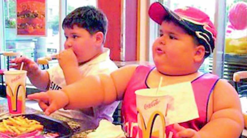 The 7th Annual Health and Fitness Study conducted by EduSports has revealed that Hyderabad has the most number of obese boys in the country between the ages seven and 17. (Representational image)