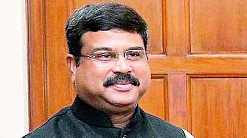 Witnessed the exchange of a MoU between ONGC and ExxonMobil to identify areas for exploration in deep water in east and west coast of India, Oil Minister Dharmendra Pradhan said in a tweet. (Photo: File)