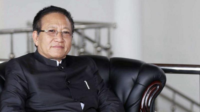 Nagaland Chief Minister TR Zeliang. (Photo: File)