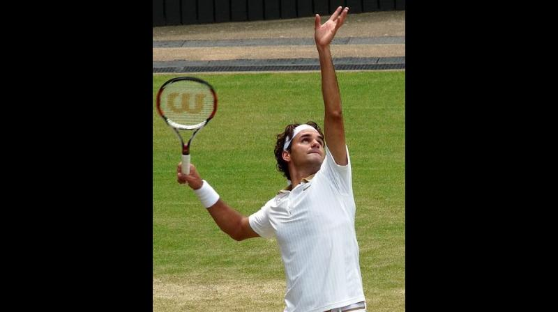 It was Roger Federer we wanted to watch but we watched everything that was on offer.