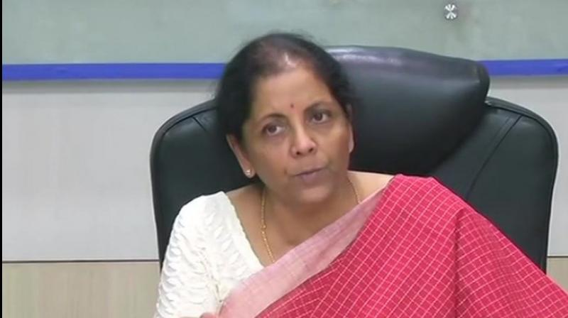 Union Finance Minister Nirmala Sitharaman. (Photo: ANI)