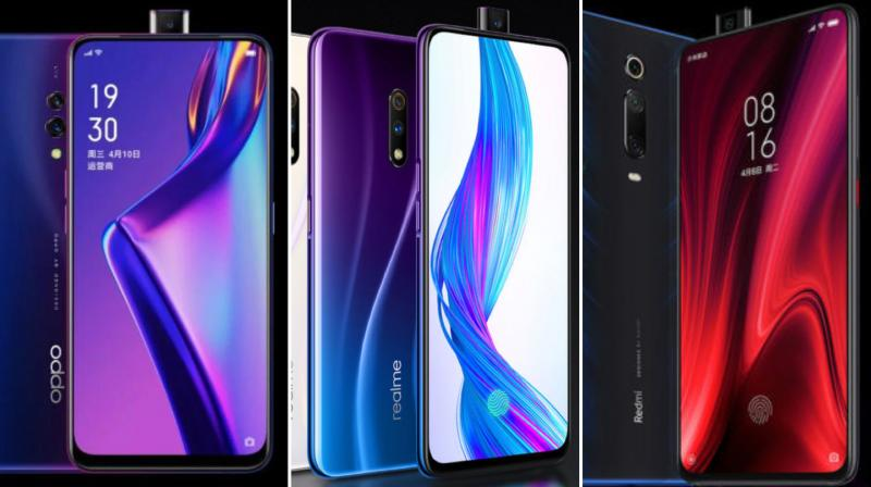 While Xiaomi brought us the K20 and K20 Pro, Oppo brought us the K3, and Realme, which is also a sub-brand of Oppo, brought us the Realme X.