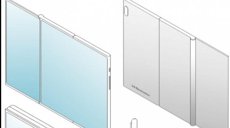 When opened up, the design resembles a smartphone and a tablet placed adjacent to each other. (Photo: LetsGoDigital))