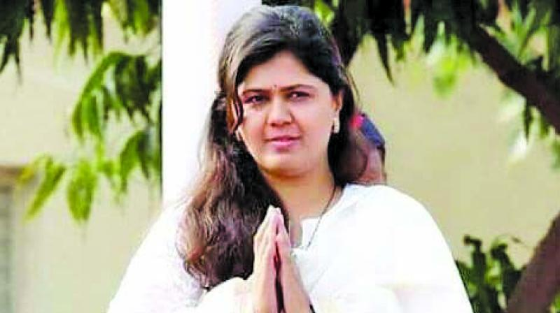 Munde, who has been holding a public rally every year on the birth anniversary of her father and former Union minister, the late Gopinath Munde, was absent from the division-level meetings of the BJP as well. (Photo: File)