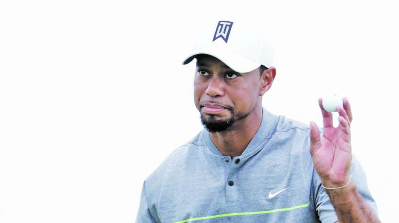 Tiger Woods at the World Challenge earlier in December. (Photo:  AP)