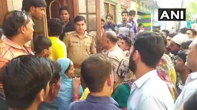 Prima facie it was a case of poisoning. The body has been sent for the postmortem. (Photo: ANI)