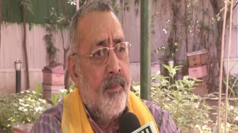 'Population control laws are necessary for the development of the country,' Giriraj said. (Photo: ANI)