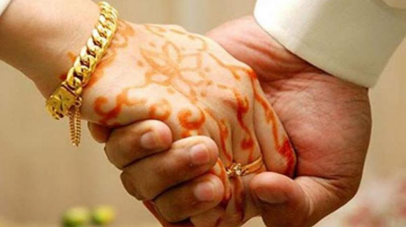 A girl in UP's Shamli was married to a youth in Saudi Arabia via video conferencing. (Representational Image/File)