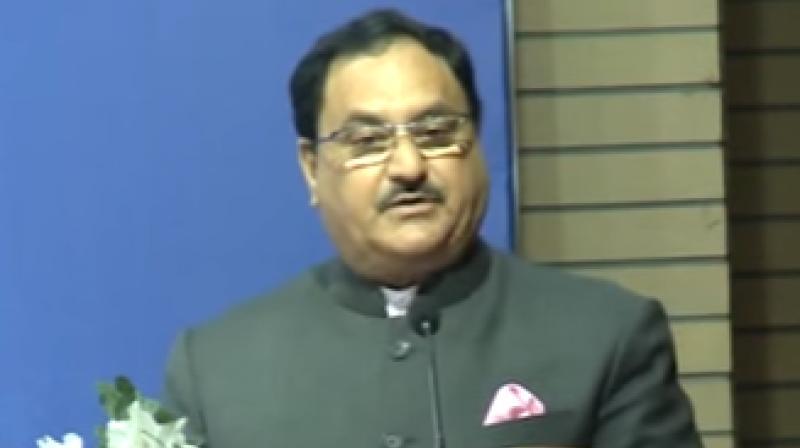 Union Health minister  Jagat Prakash Nadda (Photo: Screengrab)