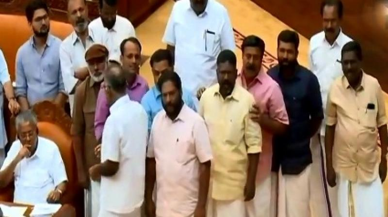 'This is a collusion between the Congress and BJP-RSS and a belated awakening,' Kerala CM Vijayan said. (Photo: ANI)