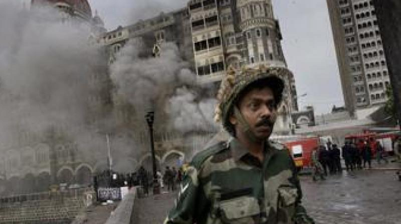Indian troops at the 26/11 Mumbai terror attack site. (Photo: AP)