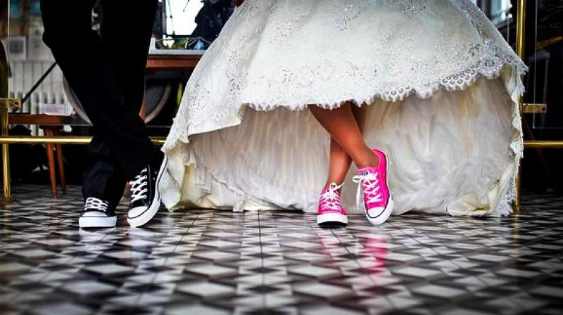 55 per cent female participants and 47 per cent male participants opined that celebrating the day 'helps strengthen marital bonds'. (Photo: Representational/Pixabay)