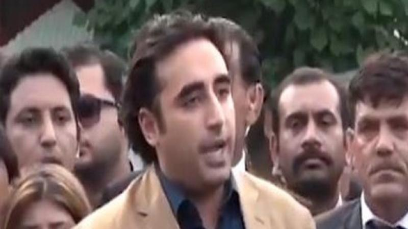 Bhutto also criticised Khan government's ineffective policies for the current state of affairs.   (Photo: @BBhuttoZardari)