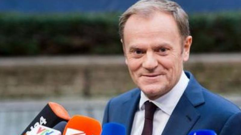 'Following Prime Minister Boris Johnson's decision to pause the process of ratification of the Withdrawal Agreement, and in order to avoid a no-deal Brexit, I will recommend the EU27 accept the UK request for an extension,' Tusk said. (Photo: File | AP)