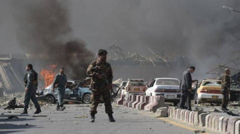 Spokesman Dawlat Wazir said the attack late Wednesday involved two suicide car bombs and set off hours of fighting. He says nine other soldiers were wounded and six have gone missing. (Photo: AFP/Representational)