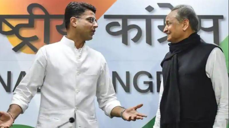 The move came after CM Ashok Gehlot and Deputy CM Sachin Pilot held meetings with Congress president Rahul Gandhi in New Delhi on Wednesday. (Photo: AP)